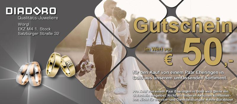 Hochzeit-Gutschein